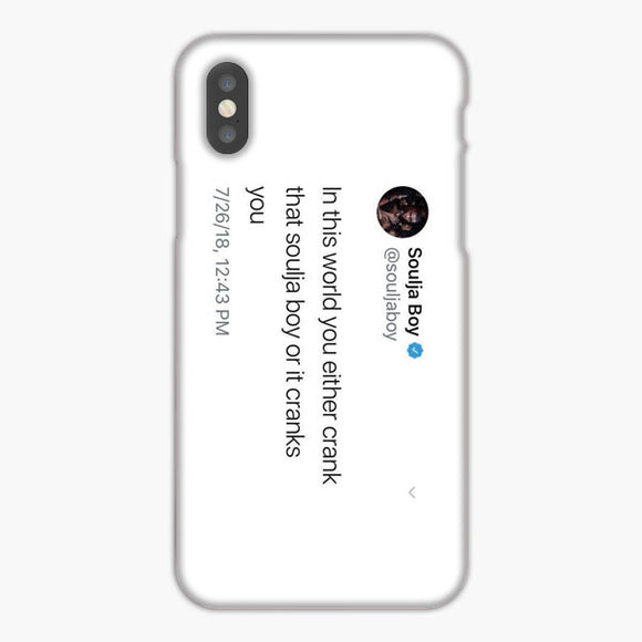Soulja Boy Tweet In This World iPhone 7 Case