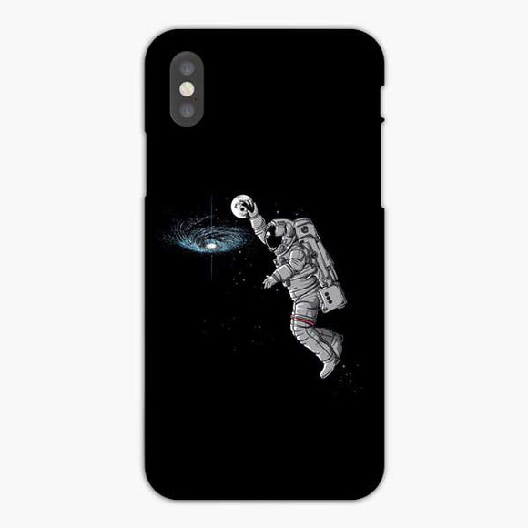 Space Nasa Astronaut Dunk iPhone XS Max Case, Snap 3D Case