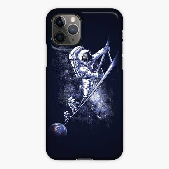 Space Nasa Astronaut Stair Steps iPhone 11 Pro Case, Snap 3D Case