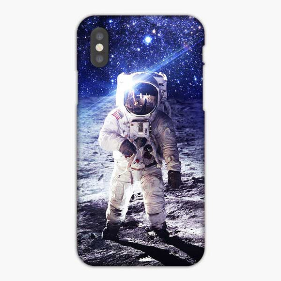 Space Nasa Astronaut iPhone XS Max Case, Snap 3D Case