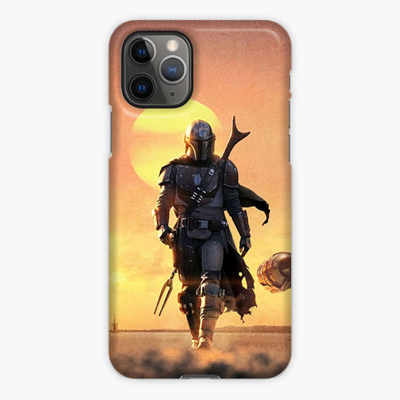 Star Wars The Mandalorian Series iPhone 11 Pro Case, Plastic Case, Snap Case & Rubber Case
