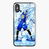 Stephen Curry Clear Water Splash iPhone XR Case, Plastic Case, Snap Case & Rubber Case