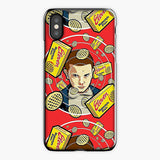 Stranger Things iPhone XS Case, Plastic Case, Snap Case & Rubber Case