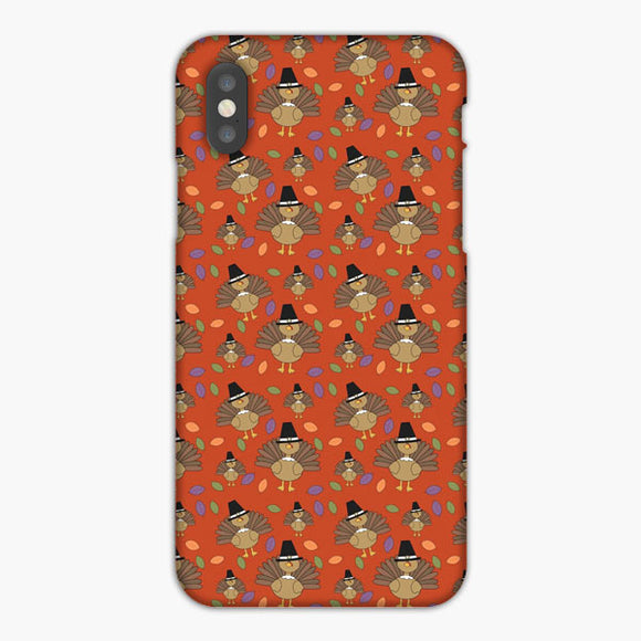 Thanksgiving Turkey Pattern iPhone 8 Case