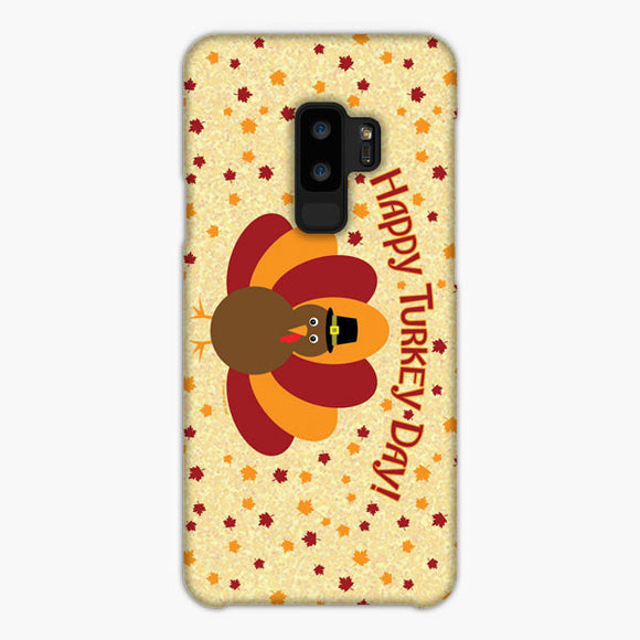 Thanksgiving Turkey Samsung Galaxy S9 Plus Case, Snap Case 3D Print