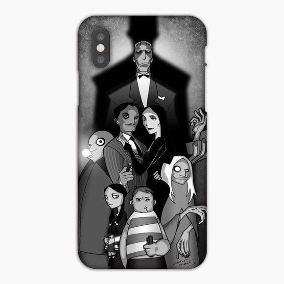 The Addams Family Black And White Art iPhone 7 Plus Case