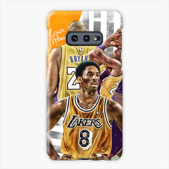 The Career Of Kobe Bryant Samsung Galaxy S10e Case, Plastic Case, Snap Case & Rubber Case