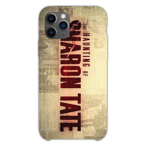 The Haunting Of Sharon Tate Logo iPhone 11 Pro Case
