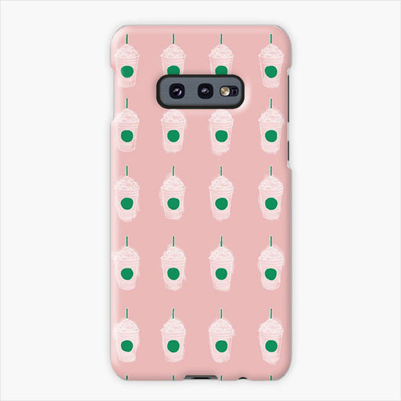 The Hype House Logo Pattern Samsung Galaxy S10e Case, Plastic Case, Snap Case & Rubber Case