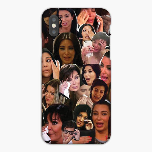 The Kardashians Crying Collage iPhone 7 Case
