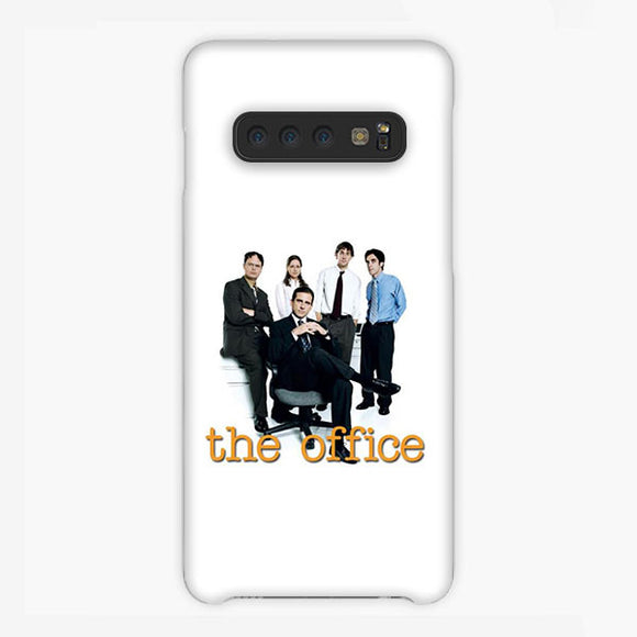 The Office Crew Us White Samsung Galaxy S10 Plus Case, Plastic Case, Snap Case & Rubber Case