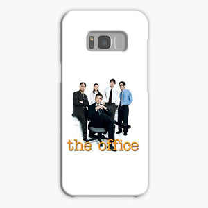 The Office Crew Us White Samsung Galaxy S8 Case, Plastic Case, Snap Case & Rubber Case