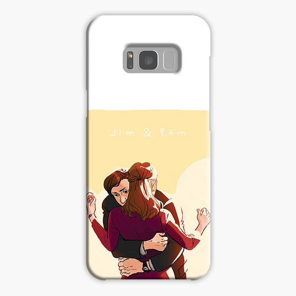 The Office Jim And Pam Samsung Galaxy S8 Plus Case, Plastic Case, Snap Case & Rubber Case