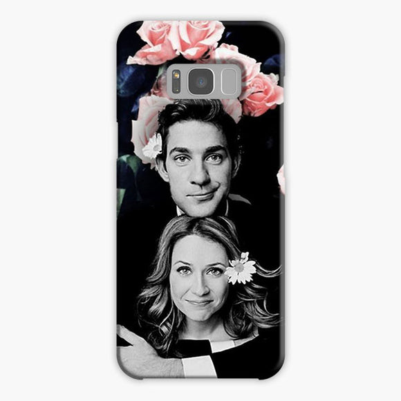 The Office Pam Beesly And Jim Samsung Galaxy S8 Case, Plastic Case, Snap Case & Rubber Case