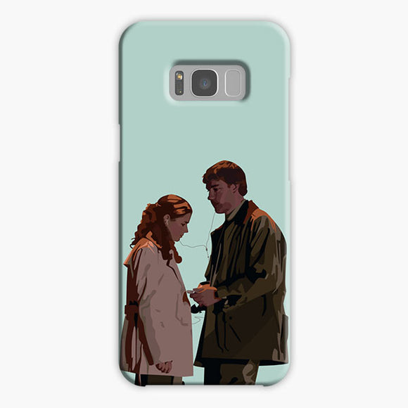The Office Pam Beesly Cartoon Samsung Galaxy S8 Plus Case, Plastic Case, Snap Case & Rubber Case