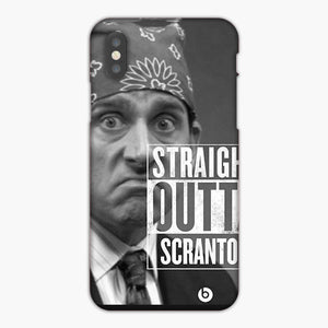 The Office Straight Out Of Scranton iPhone X Case