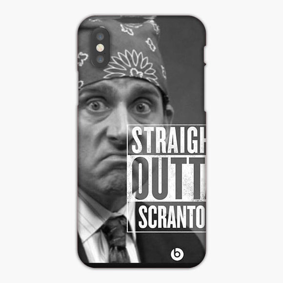 The Office Straight Out Of Scranton iPhone XS Case