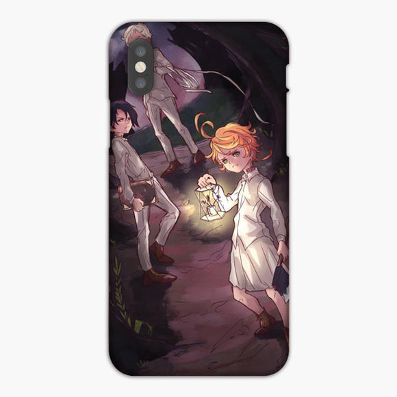 The Promised Neverland Anime Emma Norman Ray iPhone XS Case