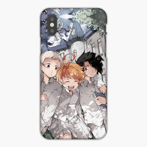 The Promised Neverland Anime Norman Ray Emma iPhone XS Case