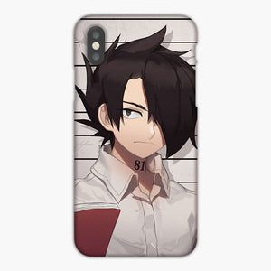 The Promised Neverland Anime Ray Mugshot iPhone 8 Plus Case