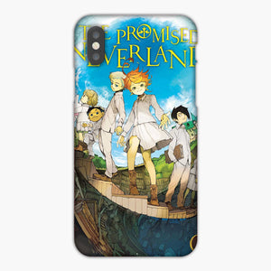 The Promised Neverland Manga Vol 1 iPhone X Case