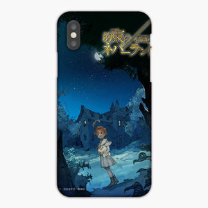 The Promised Neverland Silent Night iPhone XS Case, Plastic Case, Snap Case & Rubber Case