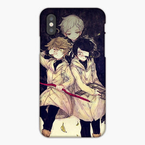 The Promised Neverland Yakusoku No Neverland iPhone XS Case, Plastic Case, Snap Case & Rubber Case