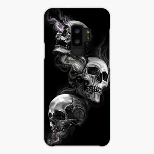 The Skull Smoke Samsung Galaxy S9 Plus Case, Snap Case 3D Print