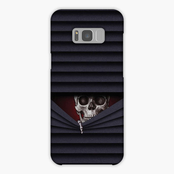 The Skull Window Samsung Galaxy S8 Case, Snap Case 3D Print