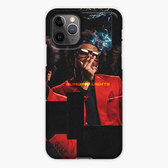 The Weeknd Blinding Lights Collage Poto iPhone 11 Pro Case, Snap 3D Case