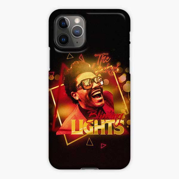 The Weeknd Blinding Lights Freshalbumart iPhone 11 Pro Case, Snap 3D Case