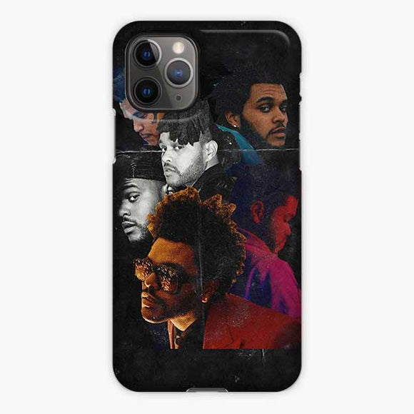 The Weeknd Collage Face iPhone 11 Pro Case, Snap 3D Case