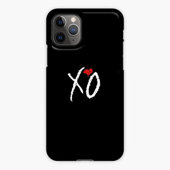 The Weeknd Xo Logo Long iPhone 11 Pro Case, Plastic Case, Snap Case & Rubber Case
