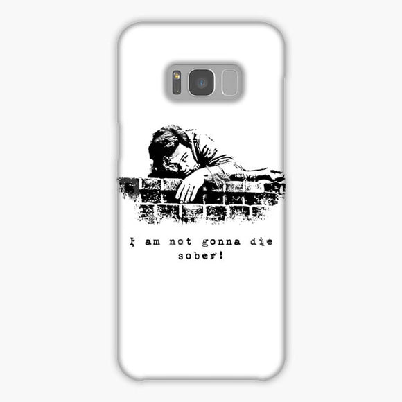 The Wolf Of Wall Street Silhouette Samsung Galaxy S8 Plus Case, Snap Case 3D Print