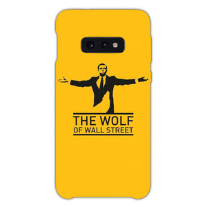 The Wolf Of Wall Street Wolfy Samsung Galaxy S10e Case, Snap Case 3D Print