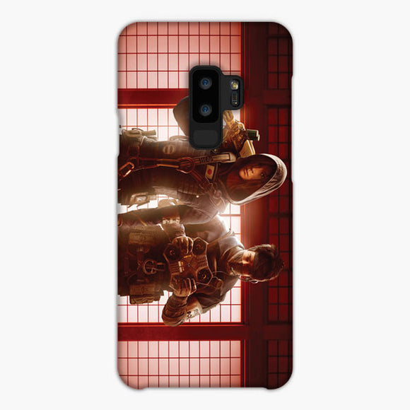 Tom Clancy'S Rainbow Six Samsung Galaxy S9 Case, Snap Case 3D Print