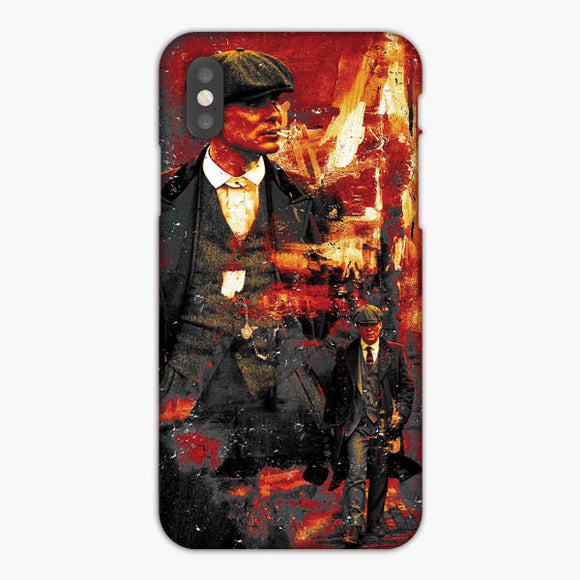 Tommy Shelby Peakyblinders iPhone XS Case