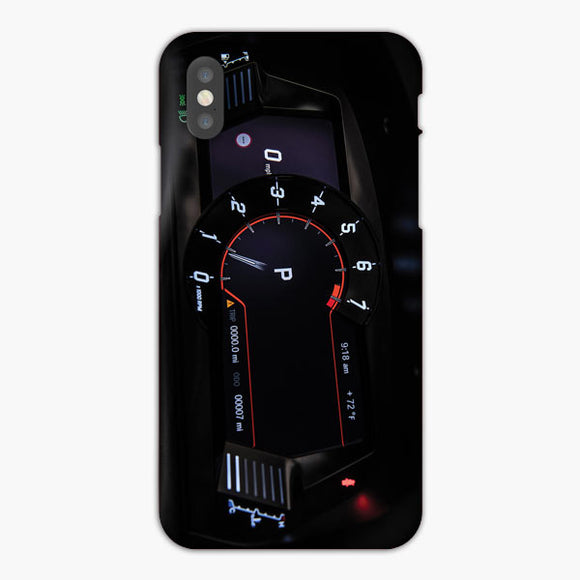 Toyota Supra Launch Edition Interior Instrument Cluster iPhone XS Case