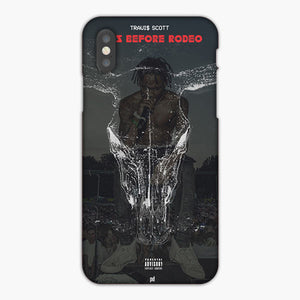 Travis Scott Days Before Rodeo On Behance iPhone XR Case, Plastic Case, Snap Case & Rubber Case