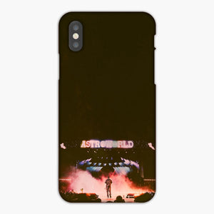 Travis Scott Magnificent Stage And Extraordinary Performance iPhone XS Max Case, Plastic Case, Snap Case & Rubber Case