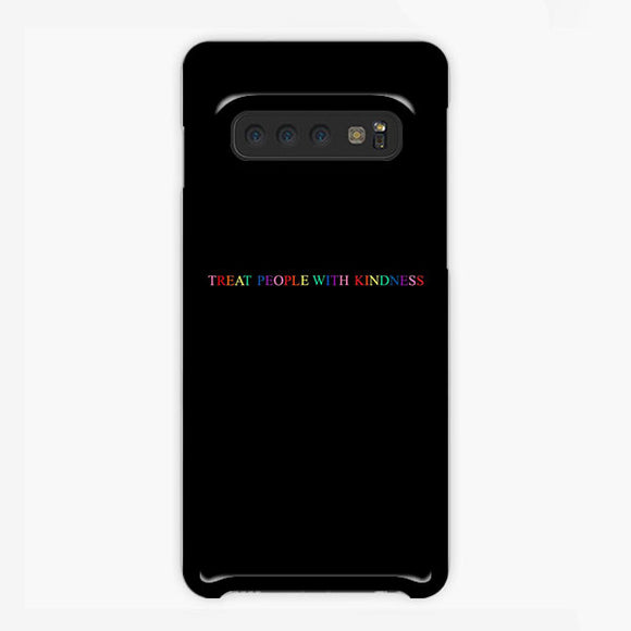 Treat People With Kindness Rainbow Samsung Galaxy S10 Case, Plastic Case, Snap Case & Rubber Case