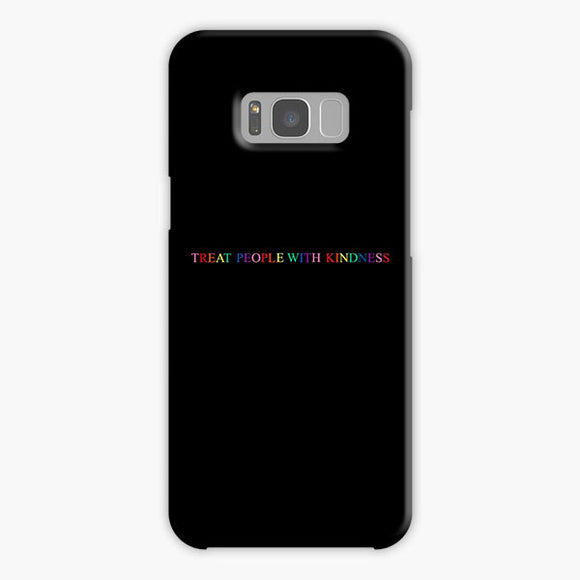 Treat People With Kindness Rainbow Samsung Galaxy S8 Plus Case, Plastic Case, Snap Case & Rubber Case