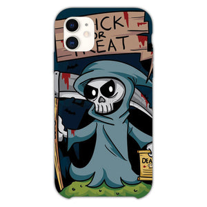 Trick Or Treat Grim Reaper iPhone 11 Case