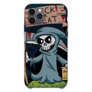 Trick Or Treat Grim Reaper iPhone 11 Pro Case