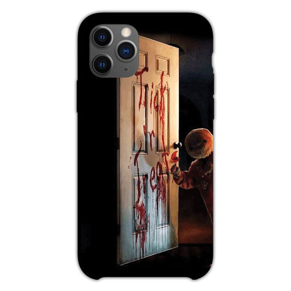Trick Or Treat Opens The Door iPhone 11 Pro Case