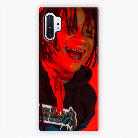 Trippie Redd Expression Of Laughter Samsung Galaxy Note 10 Plus Case, Snap 3D Case | AcornCase.com