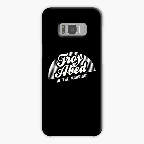 Troy And Abed In The Morning White Black Vintage Samsung Galaxy S8 Plus Case, Plastic Case, Snap Case & Rubber Case