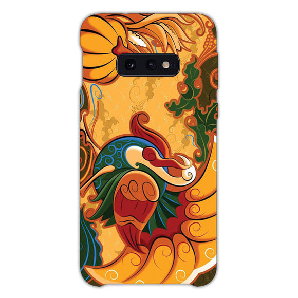 Turkey For Thanksgiving Samsung Galaxy S10e Case, Snap Case 3D Print
