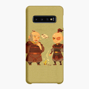 Uncle Iroh Tea And Zuko Samsung Galaxy S10 Case, Snap Case 3D Print