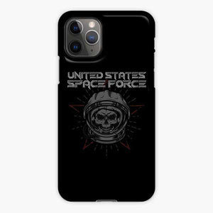 United States Space Force Skull iPhone 11 Pro Case, Snap 3D Case